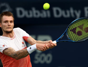 """Bublik: """"Ich liebe Tennis, aber ich mag den Wettbewerb nicht"""""""