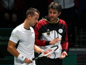 Davis Cup: Deutschland gegen Serbien und Österreich