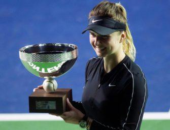 Svitolina feiert ersten Turniersieg seit Singapur-Triumph