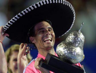 Nadal triumphiert in Acapulco