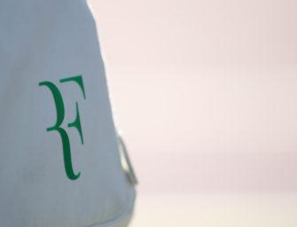 Roger Federer hat sein RF-Logo zurück