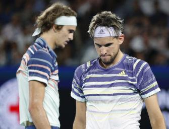Solidarität im Tennis: Auch Zverev will helfen, Thiem lieber nicht