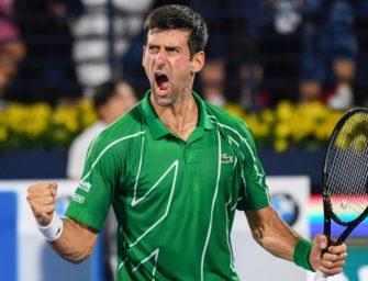 """Djokovic: """"Habe in diesem Sport noch einiges vor"""""""