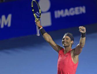 """Rafael Nadal: """"Das ist doch unsere Arbeit"""""""