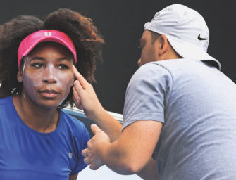 Tennis und Sonnenschutz: Hohen Lichtschutzfaktor verwenden!
