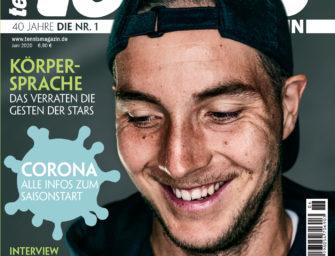 tennis MAGAZIN 6/2020 – Jan-Lennard Struff im großen Interview