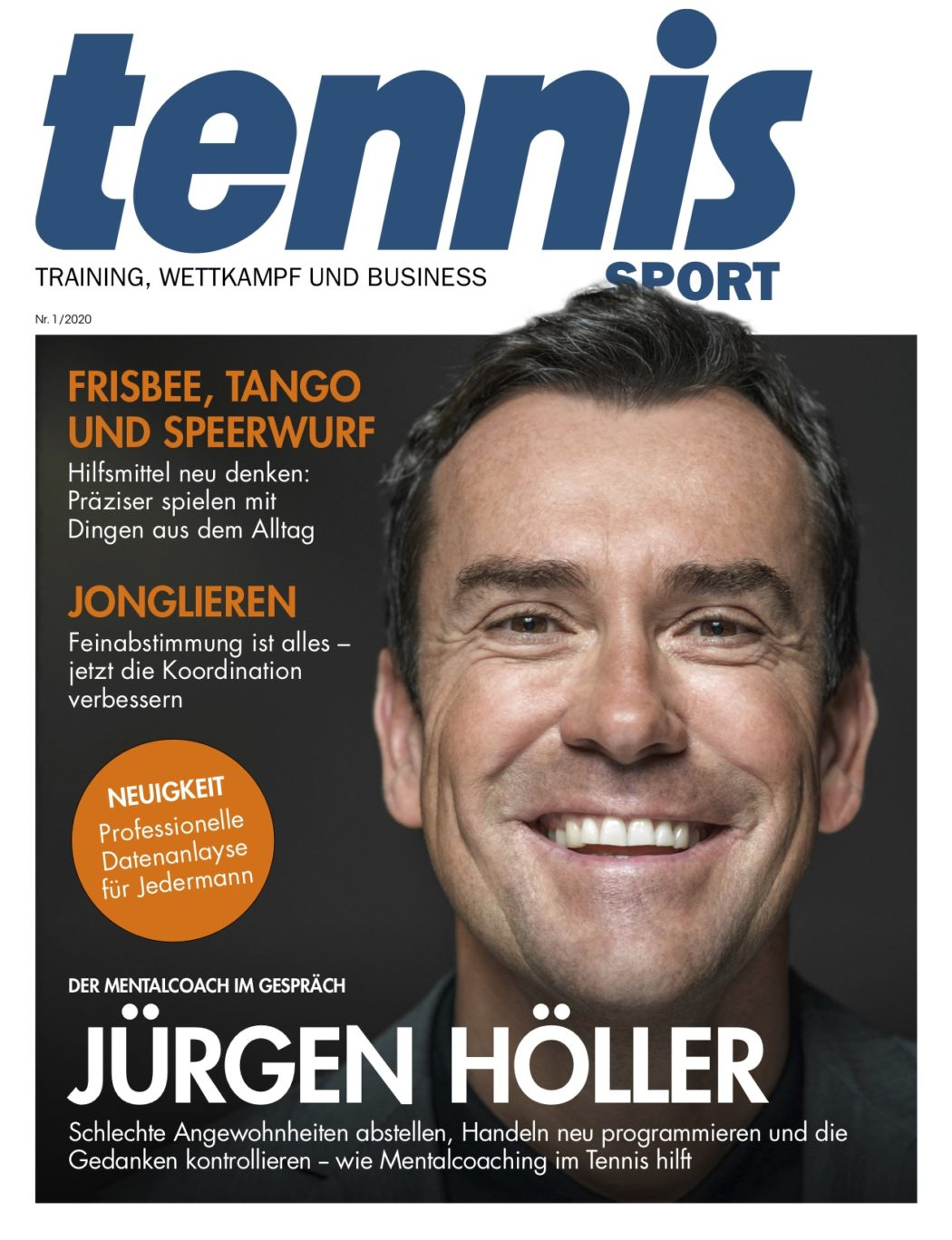 Titelseite TennisSport