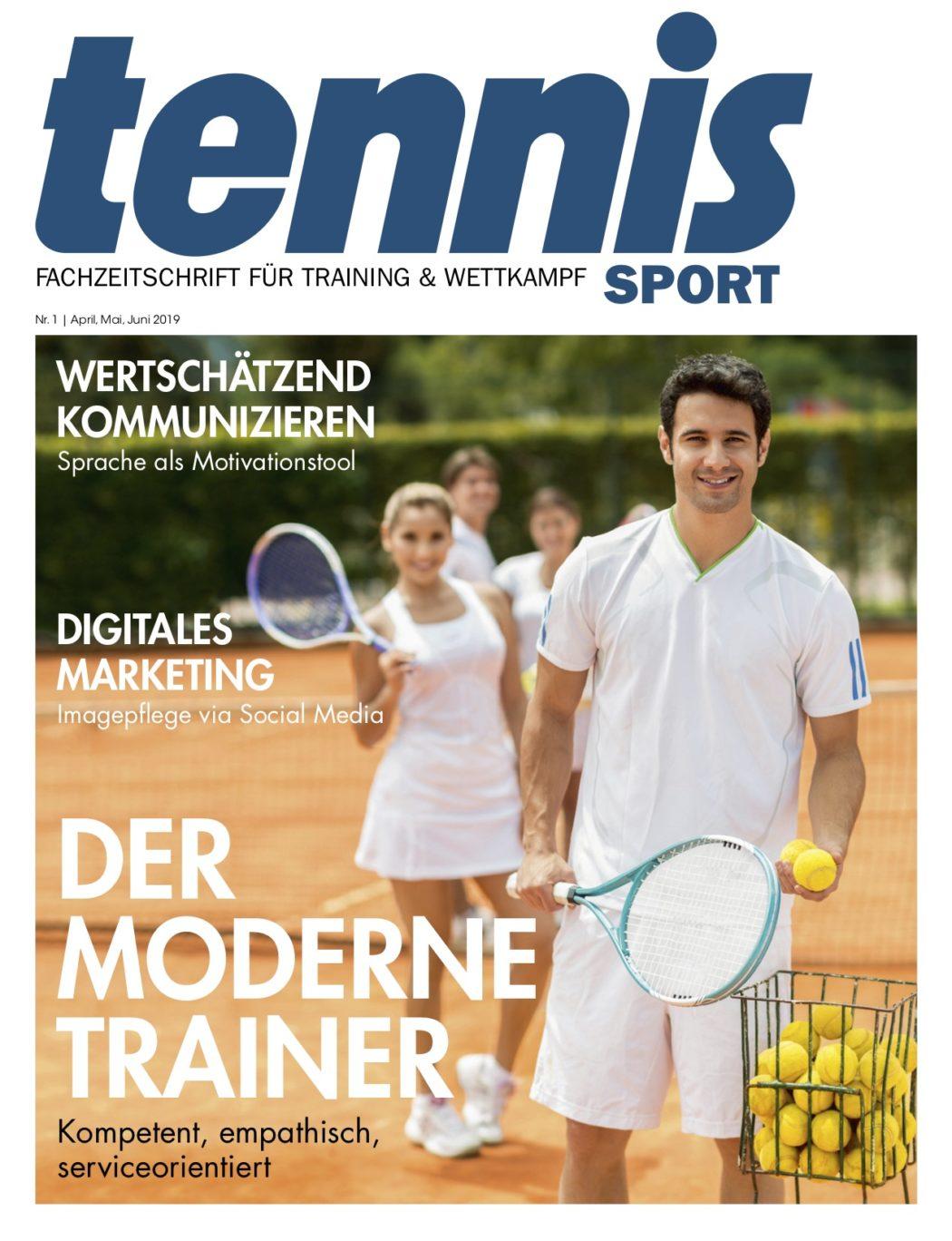 Titelseite TennisSport_01:2019