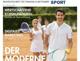 tennisSPORT 01/2019: Der moderne Trainer