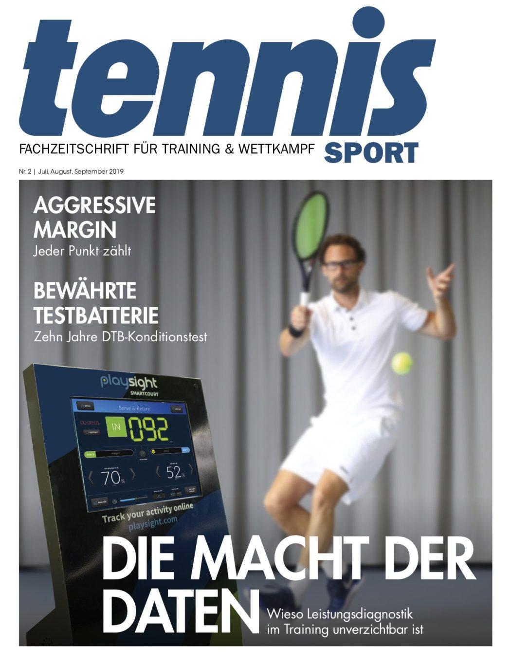 Titelseite TennisSport_02:2019
