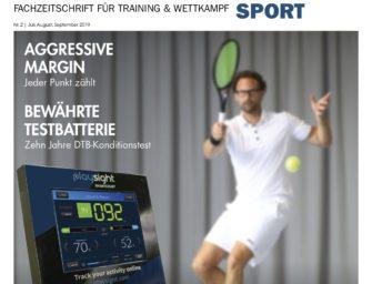 tennisSPORT 02/2019: Die Macht der Daten