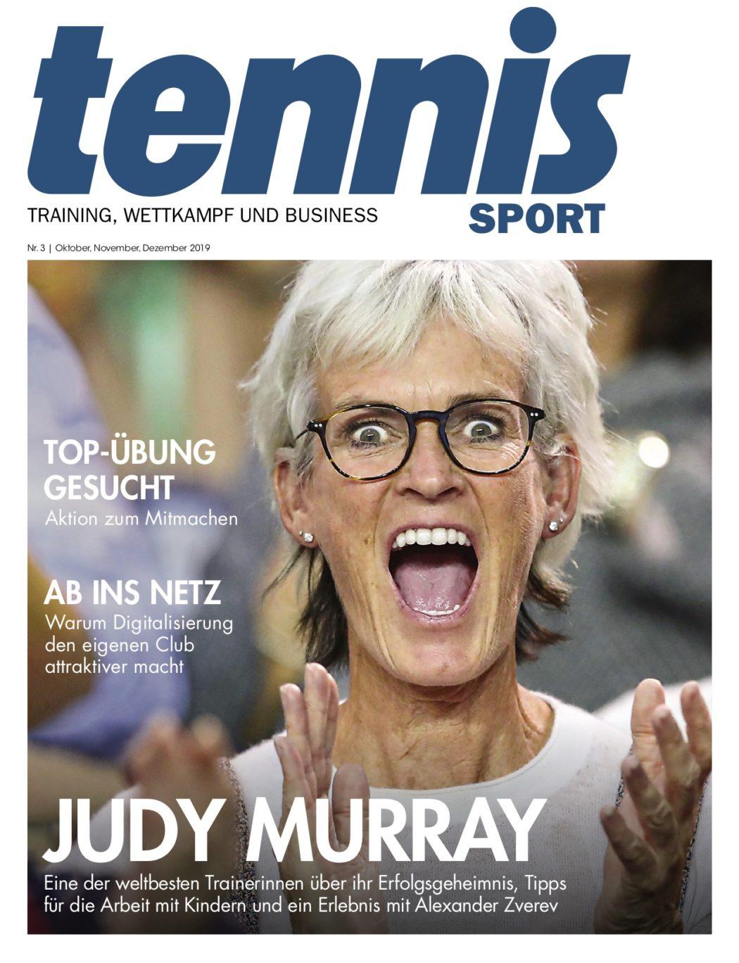 Titelseite TennisSport_03:19