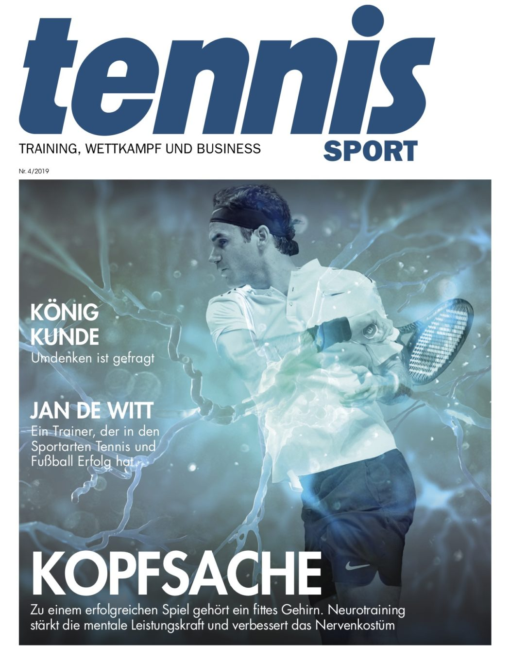 Titelseite TennisSport_04:2019