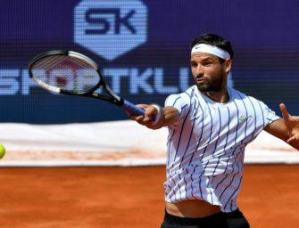 Teilnehmer bei umstrittener Adria-Tour: Tennisprofi Dimitrov positiv getestet