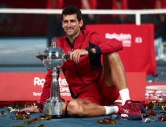 ATP-Turnier in Tokio abgesagt