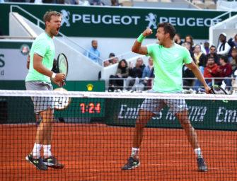 """French Open: Krawietz/Mies und ihr """"Titel für die Ewigkeit"""""""