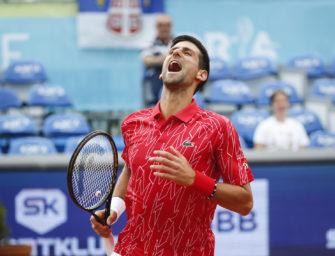 Kontroverse um die US Open: Novak Djokovic in der Kritik