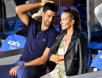"""""""Das Virus ist leider noch da"""": Djokovic positiv auf COVID-19 getestet"""