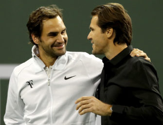 """Haas glaubt an Federers Comeback: """"Er ist mental sehr hungrig"""""""