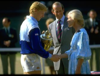 Vor 35 Jahren: Als Becker nicht nur Wimbledon aus den Angeln hob