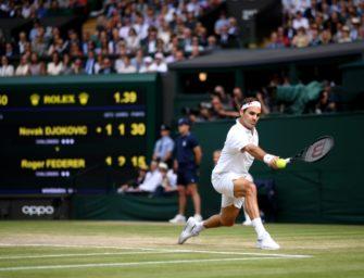"""Federer: """"Natürlich vermisse ich Wimbledon"""""""