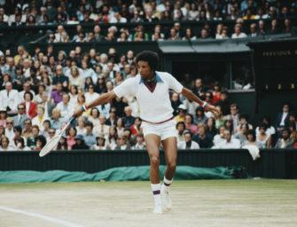 Als Arthur Ashe in Wimbledon Geschichte schrieb