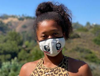 Osaka entwirft Masken für den guten Zweck
