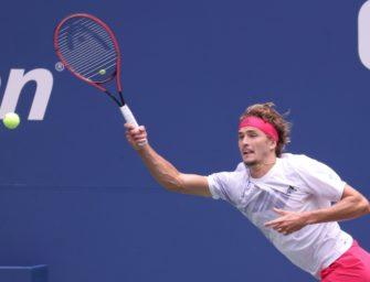 US Open: Zverev nach Sieg gegen Ex-Finalist Anderson in Runde zwei