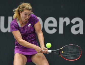 Grand-Slam-Fluch besiegt: Friedsam erreicht zweite Runde gegen Kerber
