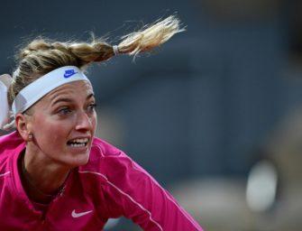 French Open: Kvitova gewinnt erstes Match des Tages – deutsche Profis warten