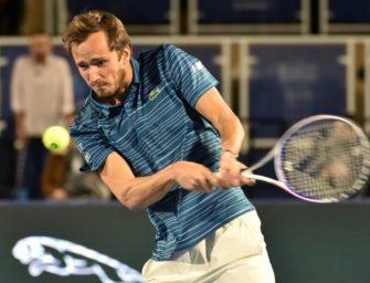 ATP Finals: Medvedev als vierter Profi qualifiziert