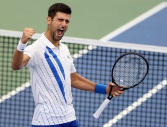 US Open: Djokovic sicher eine Runde weiter