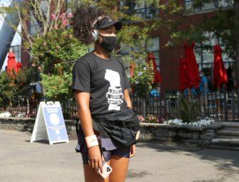 Sieben Masken, sieben Namen: Osaka setzt in New York ein Zeichen