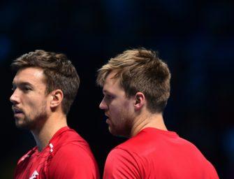 Aus im Viertelfinale: Krawietz/Mies scheitern in Hamburg