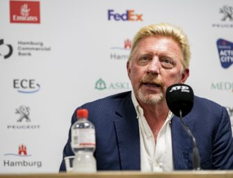 Boris-Becker-Mania am Hamburger Rothenbaum
