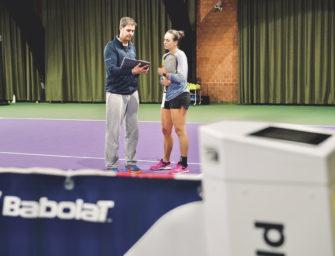 Die digitale Tennis-Akademie