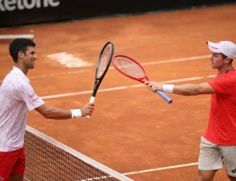 Überraschung bleibt aus: Koepfer verliert Viertelfinale gegen Djokovic