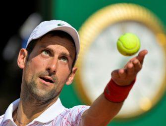 Djokovic gewinnt Spiel eins nach US-Open-Eklat