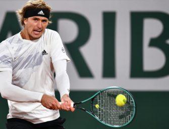French Open: Buchmacher sehen Zverev mit guten Außenseiterchancen