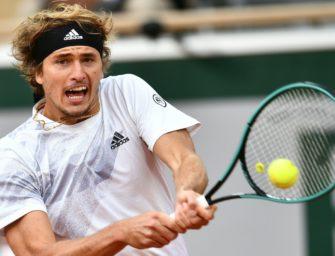 French Open: Zverev kämpft sich in die dritte Runde