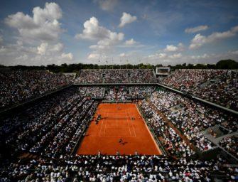 """Nur 1000 Zuschauer am Tag bei French Open: Veranstalter bedauern Entscheidung """"zutiefst"""""""