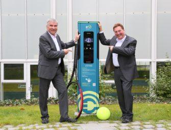 Deutscher Tennis Bund bringt E-Mobilität in die Tennisvereine