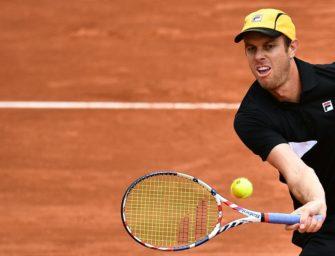 "ATP bestätigt: Querrey ""flüchtet"" nach positivem Coronatest"