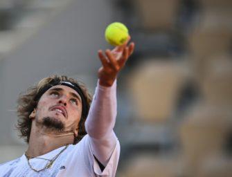 ATP-Turnier in Köln: Zverev trifft im Achtelfinale auf Verdasco
