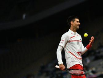 Djokovic sicher im Achtelfinale