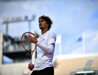 Zverev im Achtelfinale der French Open gescheitert