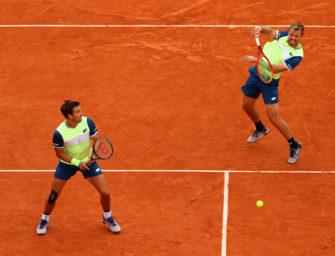 """Vor dem nächsten """"magischen Moment"""": Krawietz und Mies erneut im Finale der French Open"""