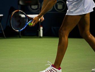 Vier Tennisspieler, die sich besonders bemerkbar gemacht haben