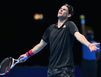 ATP Finals: Thiem verliert gegen Rublev
