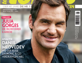 tennis MAGAZIN 1-2/2021: Roger Federer – Privat wie nie